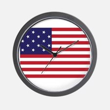 Star-Spangled Banner (Dark) Wall Clock