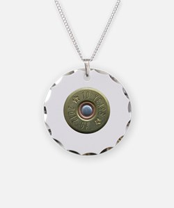 shotgun shell fixed Necklace