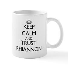 Keep Calm and trust Rhiannon Mugs