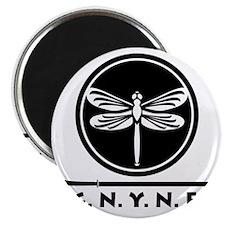 G.N.Y.N.F. logo black Magnet