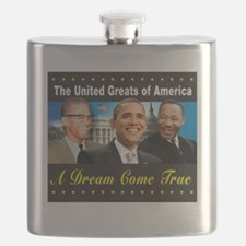 The United Greats Of America Flask