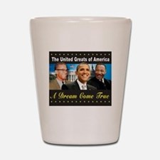 The United Greats Of America Shot Glass