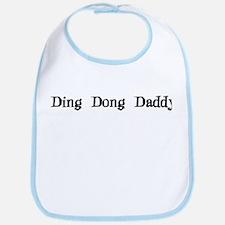 Ding Dong Daddy Bib