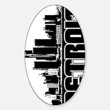 Detroit Skyline V Decal