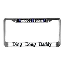 Ding Dong Daddy License Plate Frame