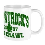 St. Pat's Pub Crawl Distressed Mug