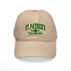 St. Pat's Pub Crawl Distressed Cap