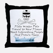 Reasons to Play Water Polo Throw Pillow