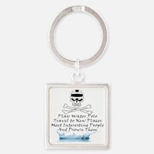 Reasons to Play Water Polo Square Keychain