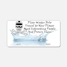 Reasons to Play Water Polo  Aluminum License Plate