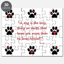 A Dogs Love Puzzle