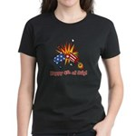 Firecracker 4th Women's Dark T-Shirt
