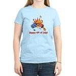 Firecracker 4th Women's Light T-Shirt