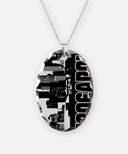Minneapolis Skyline V Necklace