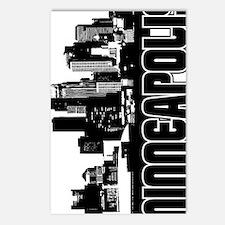 Minneapolis Skyline V Postcards (Package of 8)