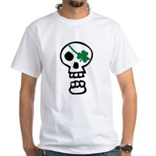 St Patricks Pirate Skull Shirt