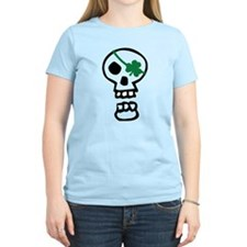 St Patricks Pirate Skull T-Shirt