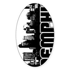Memphis Skyline V Decal
