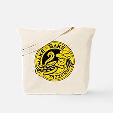 Wake & Bake Pizzeria (light) Tote Bag
