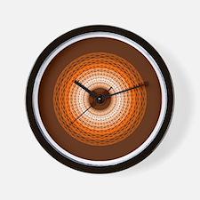 Braided Rug Wall Clock
