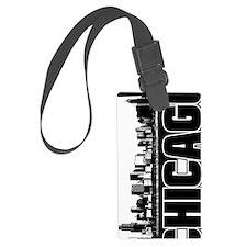 Chicago Skyline V Luggage Tag