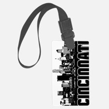 Cincinnati Skyline V Luggage Tag