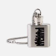 Atlanta Skyline V Flask Necklace