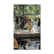 Pierre-Auguste Renoir La Gren Rectangle Car Magnet