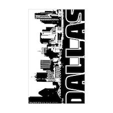 Dallas Skyline V Decal