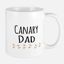 Canary Dad Mugs