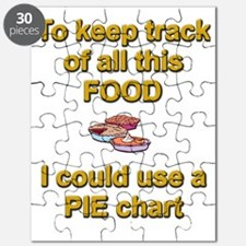Keeping track of hte holiday pie humor apro Puzzle