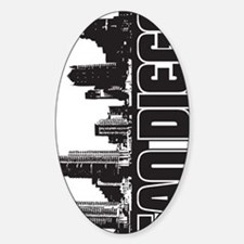 San Diego Skyline V Decal