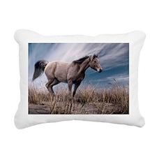 10X14 Print Rectangular Canvas Pillow