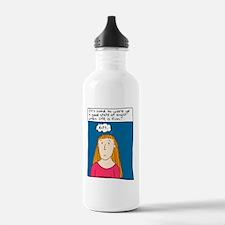 Angst Cartoon Water Bottle
