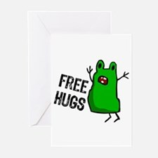 """Free Hugs"" Greeting Cards (Pk of 10)"