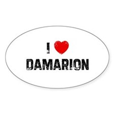 I * Damarion Oval Decal