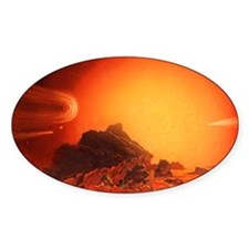 Future red giant Sun Decal