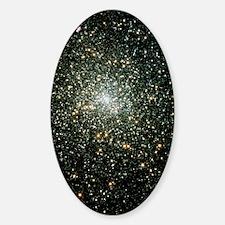 Globular cluster M15 Sticker (Oval)