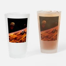 Galileo's Jupiter probe encounterin Drinking Glass