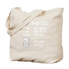 Hashing 101 - Down Down Tote Bag