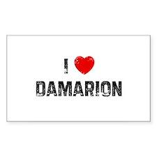 I * Damarion Rectangle Decal