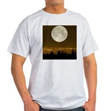 Full Moon over Vancouver T-Shirt