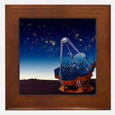 Giant Magellan Telescope, artwork Framed Tile