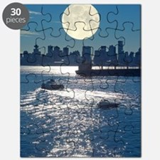 Full Moon over Vancouver Puzzle