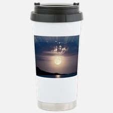 Full moon rising Stainless Steel Travel Mug