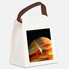 Galileo's Jupiter probe speeding  Canvas Lunch Bag
