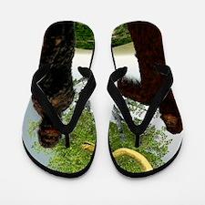 Garden of Eden, computer artwork Flip Flops