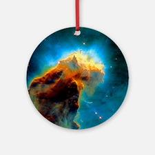 Gas pillars in the Eagle Nebula Round Ornament