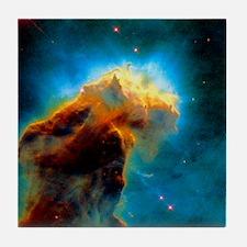 Gas pillars in the Eagle Nebula Tile Coaster