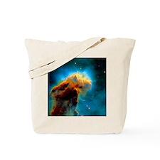 Gas pillars in the Eagle Nebula Tote Bag